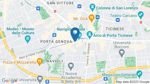 Italianway - Ripa Ticinese 17 Map