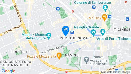 Magna Pars - L'Hotel à Parfum Map