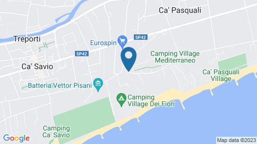 Centro Vacanze Cavallino Map