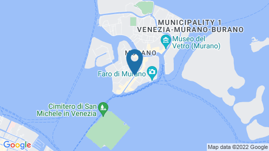 Murano Palace Bed & Breakfast Map