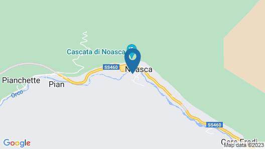 Hotel Spa Gran Paradiso Map