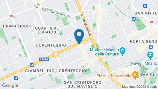 Lorenteggio Map