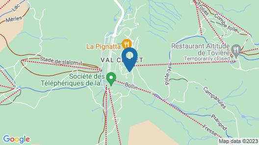 Vacancéole - Le Borsat IV Map