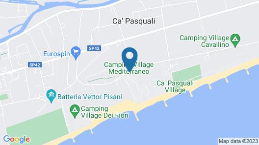 Victoria Mobilehome Village Mediterraneo Map