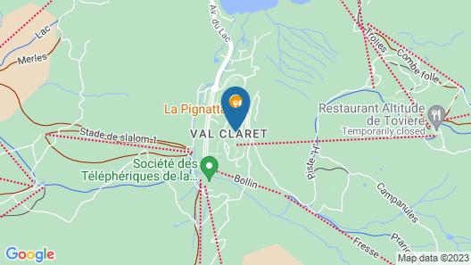 Hôtel Les Suites - Maison Bouvier Map