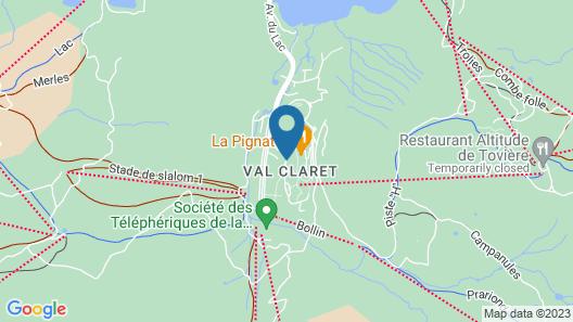 Le Ski d'Or Map