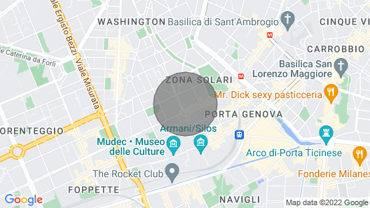Fuorisalone Zona Tortona, Solari - 4 pax Two-room Apartment Complete With Everything Map