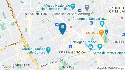 miLoft Guest Rooms & Terrace Map