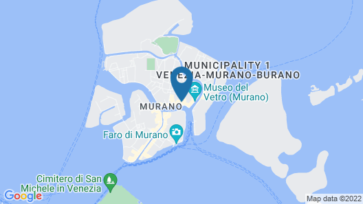 Hyatt Centric Murano Venice Map