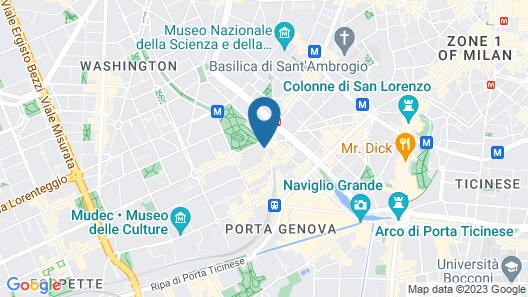 Mercure Milano Solari Map