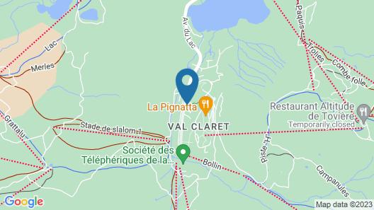 Residence Pierre & Vacances Premium L'Ecrin des Neiges Map