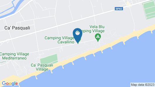 Camping Village Cavallino Map