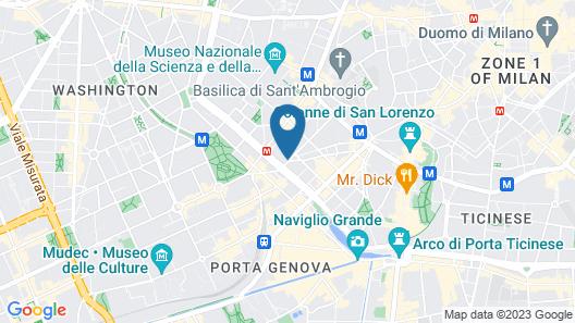 Aiello Rooms Map