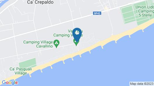 Vela Blu Camping Village Map