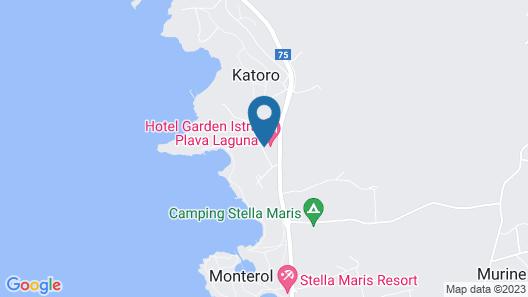 Hotel Sol Garden Istra For Plava Laguna Map