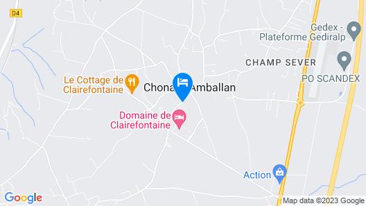 Domaine de Clairefontaine Map