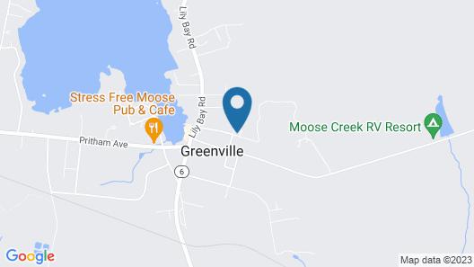 Greenville Inn at Moosehead Lake Map