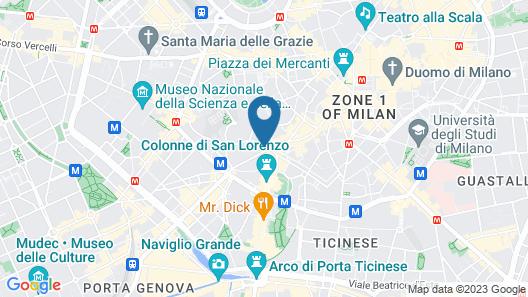 Italianway - Del Torchio 4 Map