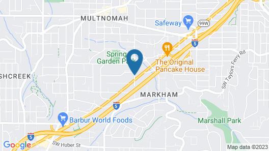 Aladdin Inn & Suites Map