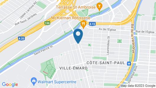 Gite King Hostels Map