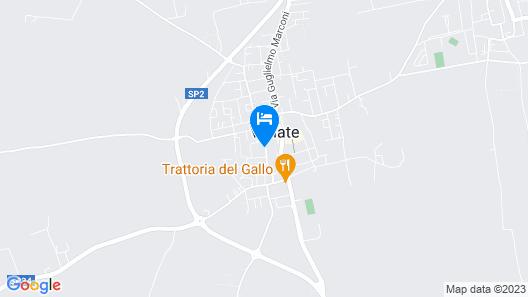 Locanda I Tarocchi Map