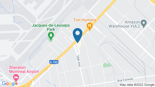Holiday Inn Express Hotel & Suites Montreal Airport, an IHG Hotel Map