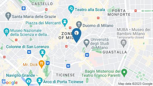 Hotel Brunelleschi Map