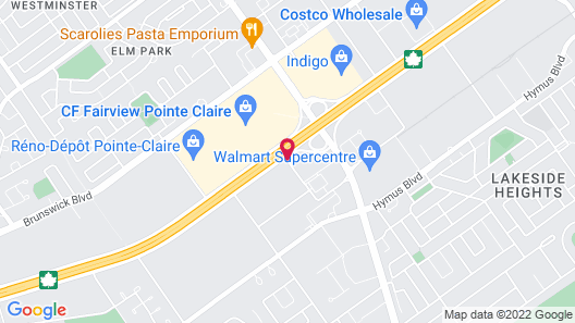 Holiday Inn & Suites Pointe-Claire Montreal Airport Map