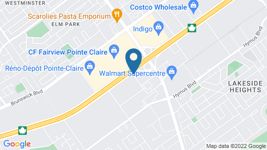 Holiday Inn & Suites Pointe-Claire Montreal Airport, an IHG Hotel Map