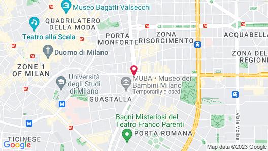 Aparthotel Meneghino Map