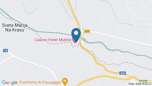 Casino Hotel Mulino Map