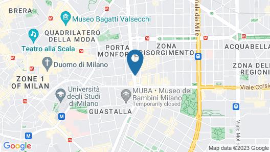 Bianca Maria Palace Hotel City Center Map