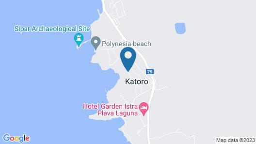 Apartments Sol Katoro For Plava Laguna Map