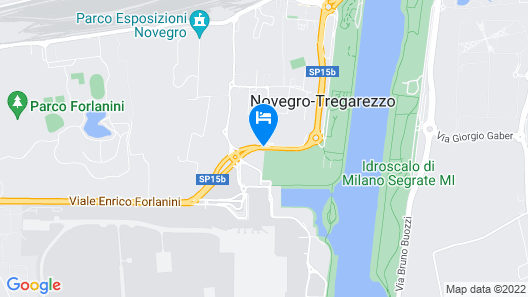 Best Western Air Hotel Linate Map