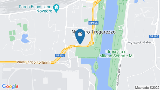 Moxy Milan Linate Airport Map