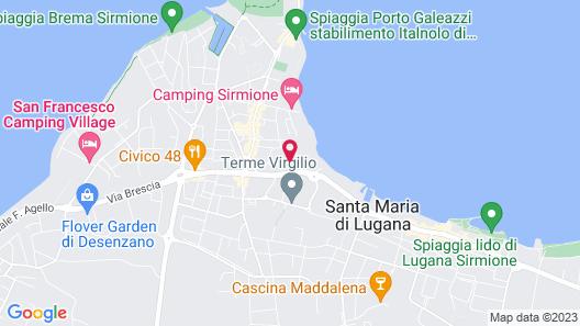 Hotel Alfieri Map