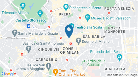 Park Hyatt Milano Map