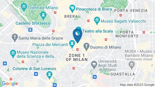 Galleria Vik Milano Map