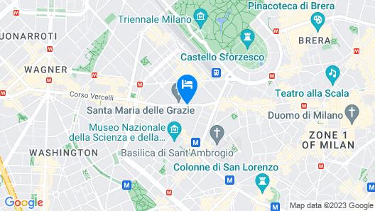Hotel Palazzo delle Stelline Map