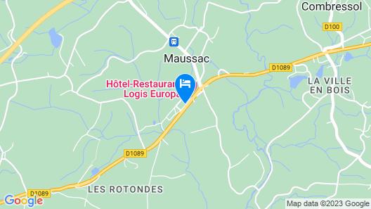 Hôtel Europa Map