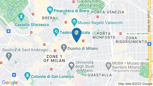 Allegroitalia San Pietro All'Orto 6 Luxury Apartments Map