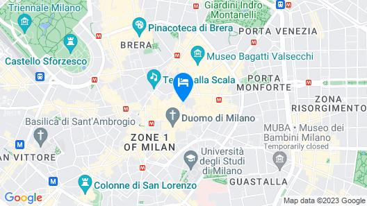 Duomo Hotel & Apartments Map