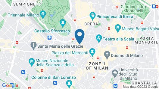 Palazzo Segreti Map