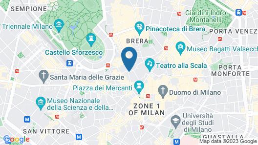 ApartHotel Bossi Map