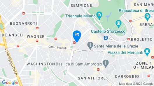 Boccaccio Apartment Map