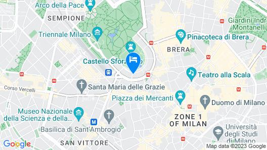 Altido Castle Mansion Map