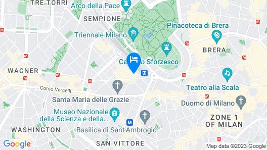 Cadorna Station Studio Map