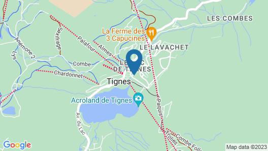 Hôtel Le Refuge Map