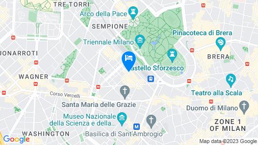 Italianway   - Saffi B Map