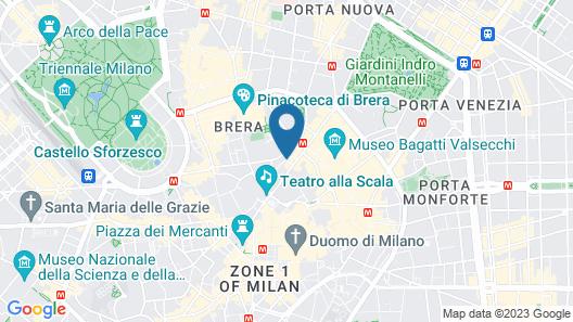 Mandarin Oriental, Milan Map
